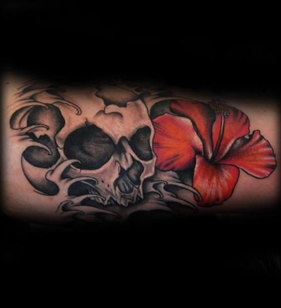 Tatouage Fleur Hibiscus 38 Magnifiques Dessins
