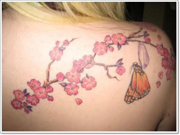 Tatouage Fleur De Cerisier 25 Idees De Dessins