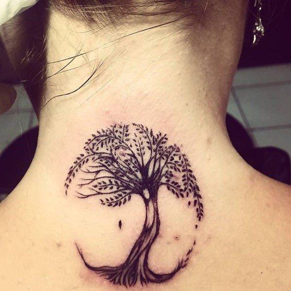 59 Sublimes De Dessins Arbre Vie Pour Un Tattoo